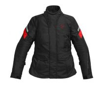 CHAQUETA REV'IT INDIGO LADY BLACK-RED OUTLET