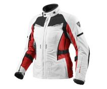 CHAQUETA REV'IT SAND LADY SILVER-RED