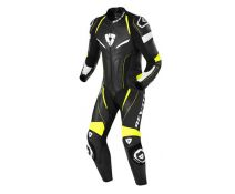 REV'IT PROFESIONAL ONE PIECE REPLICA BLACK-FLUO
