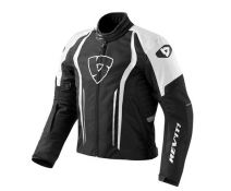 CHAQUETA REV'IT SHIELD BLACK-WHITE