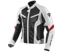 CHAQUETA REV'IT GT-R AIR WHITE_BLACK