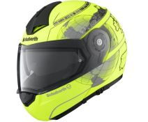 SCHUBERTH C3 PRO EUROPE MATT NEON YELLOW