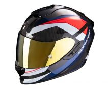 Casco Integral Scorpion Exo 1400 Air Carbon Legione Red - Blue