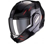 Casco Scorpion Exo-tech Pulse Black-red