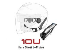 INTERCOMUNICADOR SENA 10U SHOEI J-CRUISE + HANDLEBAR
