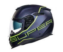 NEXX SX.100 URBAN SUPERSPEED NAVY BLUE-NEON YELLOW