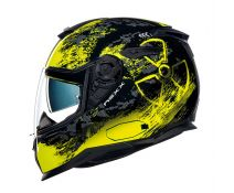 NEXX SX.100 URBAN TOXIC BLACK-NEON YELLOW