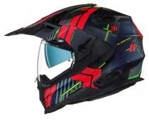 Casco Trail Nexx X.wed 2 Wild Country  Negro Rojo Mate