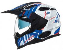 Casco Trail Nexx X.wed 2 Wild Country Azul Blanco Rojo