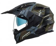Casco Trail Nexx X.wed 2 Wild Country Verde Gris Mate