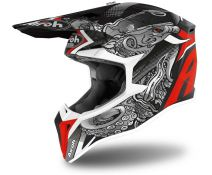 Casco Off-road Airoh Wraap Octopus Mate