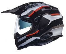 CASCO NEXX X.WED 2 X-PATROL BLACK-SILVER-RED