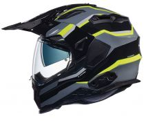 CASCO NEXX X.WED 2 X-PATROL BLACK-TITANIUM-NEON YELLOW