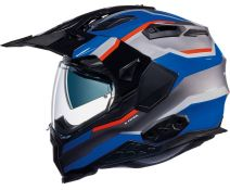CASCO NEXX X.WED 2 X-PATROL TITANIUM-BLUE-RED