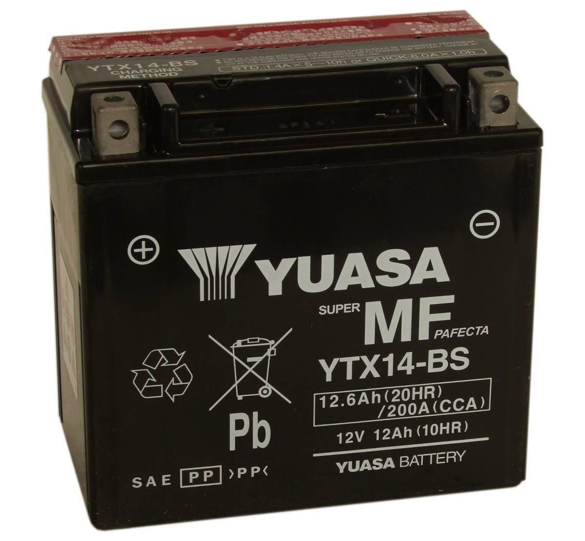 BATERÍA MUERTA  Bateria-yuasa-ytx14-bs