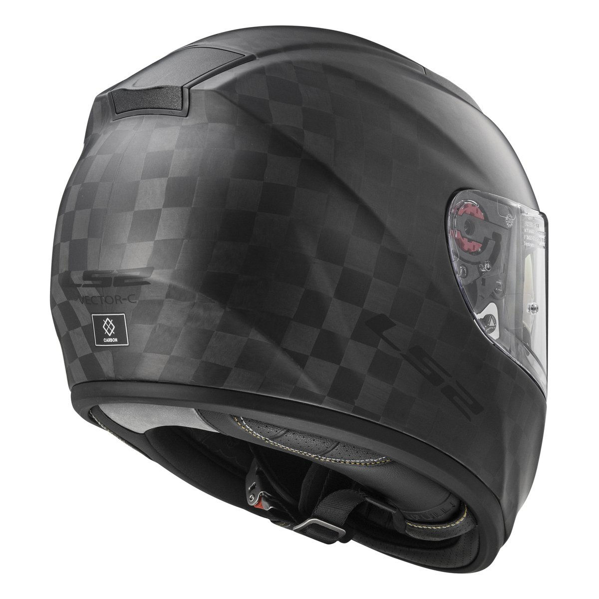 casco ls2 vector c solid matt carbon