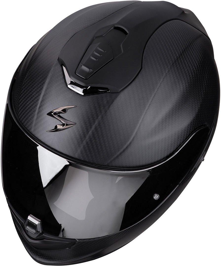 casco scorpion exo 1400 carbon solid matt. Black Bedroom Furniture Sets. Home Design Ideas