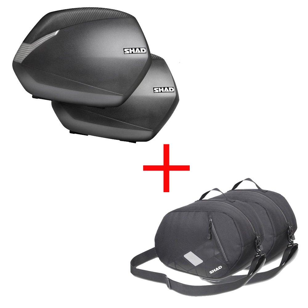 Negro Shad D1B36E21 Accesorio para Sh36 Tapa