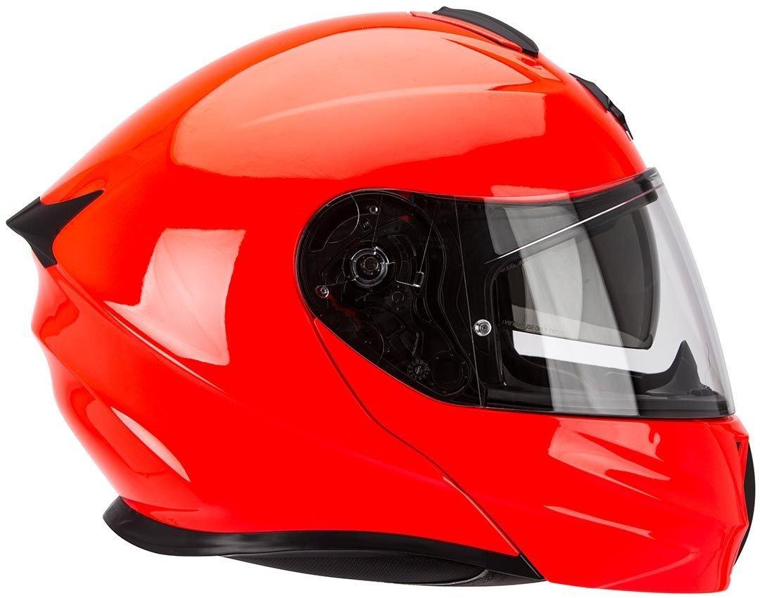 Scorpion Exo 920 Solido Rojo Fluor Motorraiz